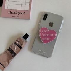 Love L'amour Liebe tok_Kitsch pink