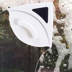 와이퍼 양면자석 유리창닦이(레드)(3-8mm)/ 창문청소