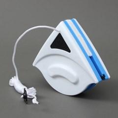 와이퍼 양면자석 유리창닦이(블루) (7-15mm)/유리청소