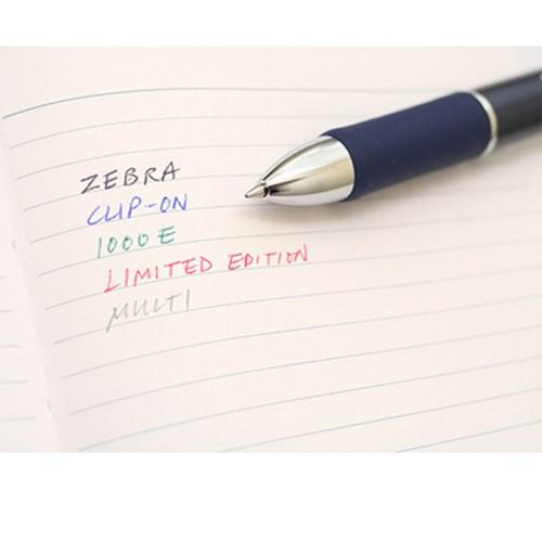 (Limited)지브라 클립온 1000E 리미티드 에디션4컬러 멀티펜+샤프