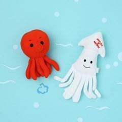 [PetToy]Squeaky Squid (오징어)찍찍삑삑