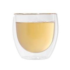 [로하티]블리스 이중 유리컵(180ml)