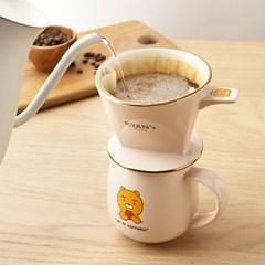 카카오프렌즈 라이언카페 커피드리퍼 세트 2종