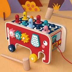 두뇌 감각발달 놀이 어린이집 교구 숫자 인지 연산놀이 두더지 잡기