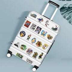 트래블 캠핑 노트북 여행가방 데코스티커- 스트릿패션C -100매