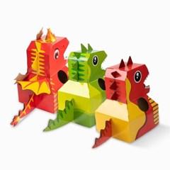 공룡 옷 만들기 집콕놀이 어린이집 미술시간
