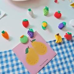 과일 야채 집게(12개 1세트)