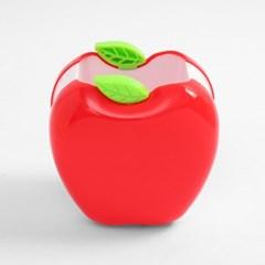 팬시몰 상큼 사과 펜꽂이(8cmx8.5cmx9cm)