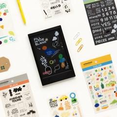 라이프앤피시스 스티커 컬렉션 (6장) – 투명
