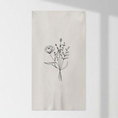 인테리어 패브릭 포스터_꽃다발