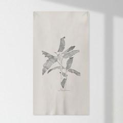 인테리어 패브릭 포스터_파초나뭇잎