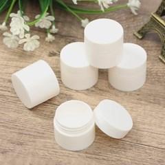 백색 리필 크림용기 5p세트(10g)