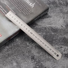 양면 눈금 스틸자(20cm)