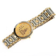 부처님 불교 불자시계 메탈 남성 손목시계 AB9706M