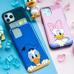[디즈니] 미키와 친구들 피카부 유광 카드범퍼