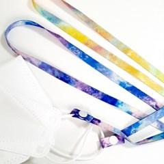 감성우주 마스크 스트랩 목걸이 목줄 끈-2컬러