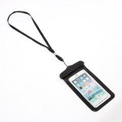 암밴드+넥스트랩 스마트폰 방수팩(블랙)