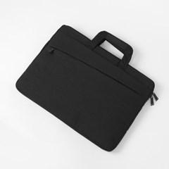 사선무늬 노트북가방(블랙) (43cmx31cm)
