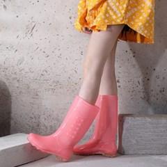 레이니팝 논슬립 레인부츠(235cm) / 핑크 여성장화