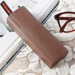 원목무늬 하드 안경케이스 / 안경통 선글라스케이스