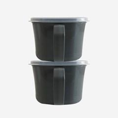 모던 핸디 캐니스터 2호(1.4L) 2P 2color