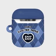 You are mine covy-blue(Hard air pods)_(1757420)
