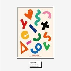 [KEEERI x BFMA] EVERYTHING 포스터 A3