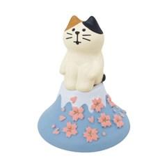 데꼴 2021 벚꽃 피규어 언덕고양이