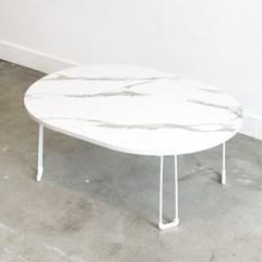 타원형 테이블 80x60cm