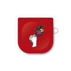 프루그나 꽃을든소녀 갤럭시 버즈 프로/버즈 라이브 케이스