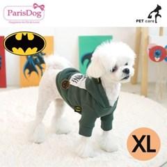 패리스독 배트맨 후드 D디자인 티셔츠 XL