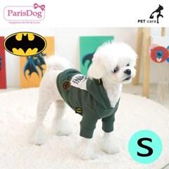 패리스독 배트맨 후드 D디자인 티셔츠 S