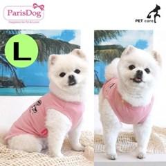 패리스독 이모션 티셔츠 핑크 L