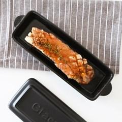 직화 오븐 가능한 그라세 생선 내열 도자기팬_(1798231)