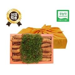 (농부와아내) 무농약 3년근 황토 더덕선물세트 1.8kg 3호 (20~29개)