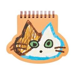 페이스 트윈링노트 Vol.2_고양이 오렌지