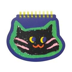 페이스 트윈링노트 Vol.2_고양이 네이비