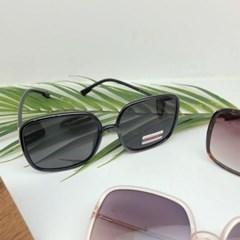 사각 도수없는 가벼운 레와파드 핑크 패션 선글라스