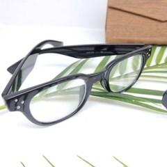 뿔테 가벼운 도수없는 블랙 데일리 패션 안경