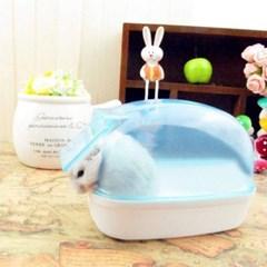 옐로우 햄스터욕조 목욕탕 스몰펫용 물놀이기구