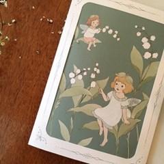 DEARMOMENT CARD_4종 set spring