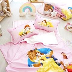 디즈니 미녀와 야수 베개커버 (50X30)