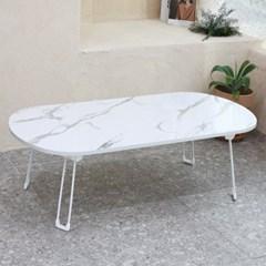 라운드 프리미엄 접이식 테이블 120x60cm