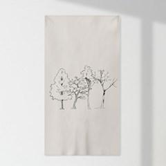 인테리어 패브릭 포스터_봄여름가을겨울