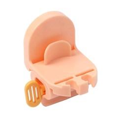 3in1 부착식 칫솔홀더 치약짜개 욕실 양치컵걸이