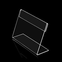 아크릴 쇼케이스(10x7cm)/L자형 가격표꽂이 pop꽂이