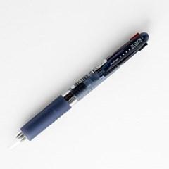 문화 1p 0.7mm 에스 3색 볼펜 / 문화볼펜