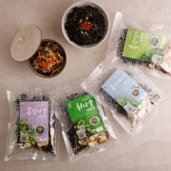 간편요리 건나물비빔밥 재료 4종_(1051407)