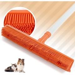 고양이 털 빗자루 실리콘 밀대 강아지 털 청소기