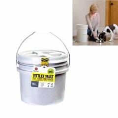 감마2 비틀볼트 버켓10 강아지 사료보관함 약4~7kg